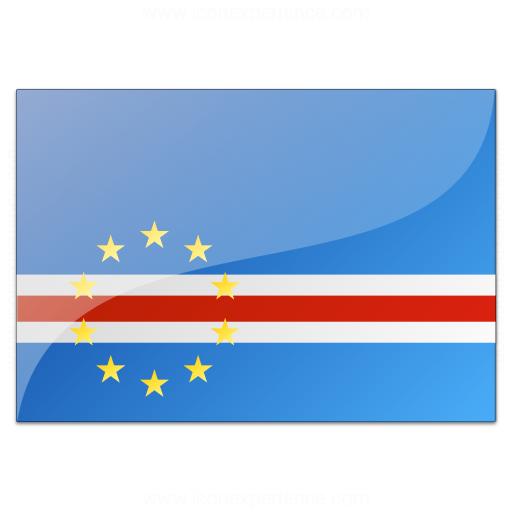 Flag Cape Verde Icon