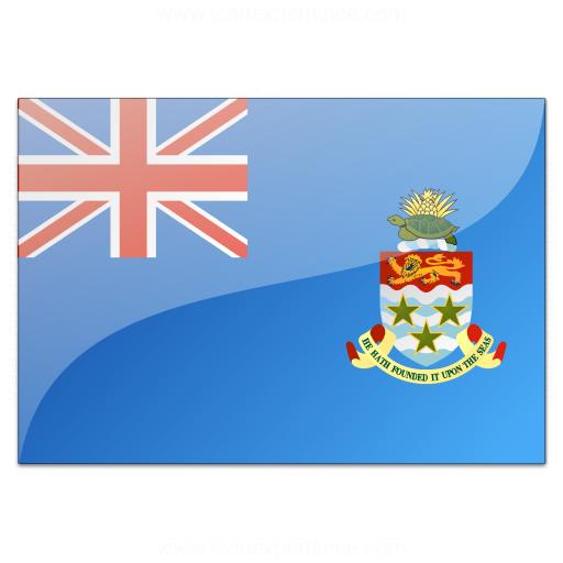Flag Cayman Islands Icon