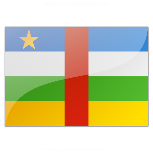 Flag Central African Republic Icon