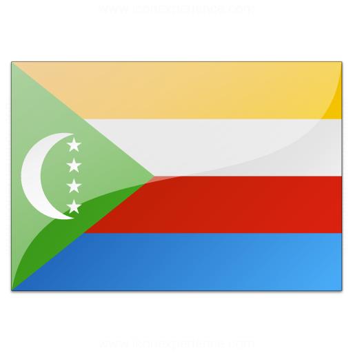 Flag Comoros Icon
