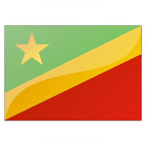 Flag Congo Republic Icon