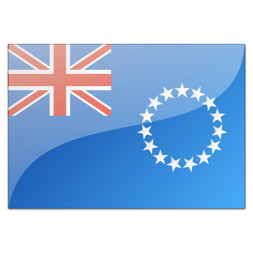 Flag Cook Islands Icon