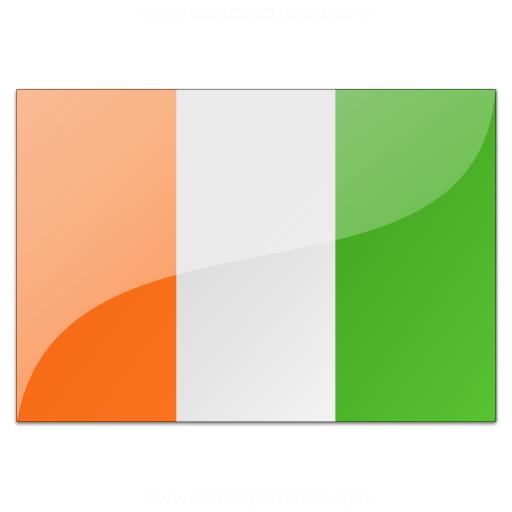 Flag Cote Divoire Icon