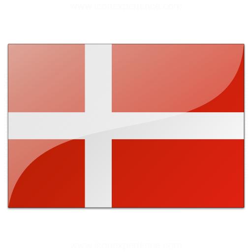 Flag Denmark Icon