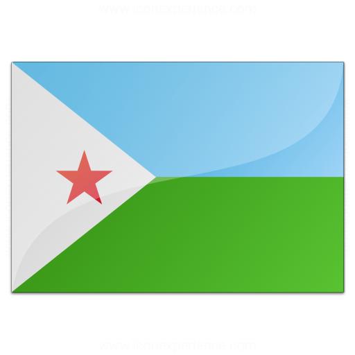 Flag Djibouti Icon
