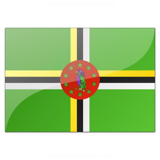 Flag Dominica Icon