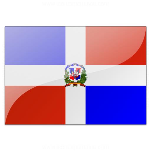 Flag Dominican Republic Icon