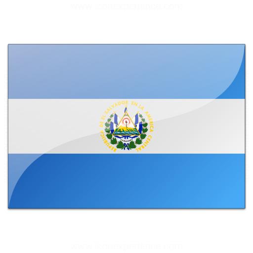 Flag El Salvador Icon