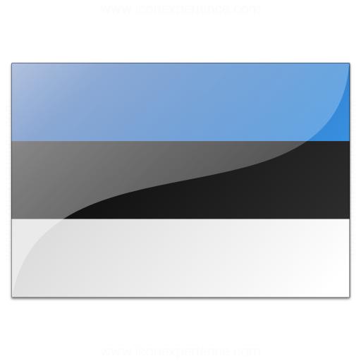 Flag Estonia Icon