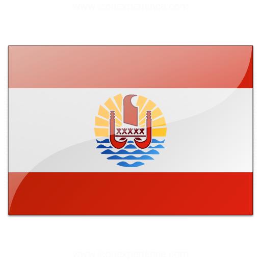 Flag French Polynesia Icon