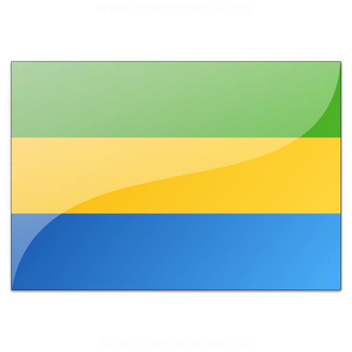 Flag Gabon Icon