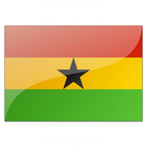 Flag Ghana Icon