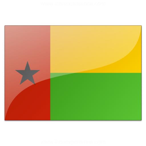 Flag Guinea Bissau Icon