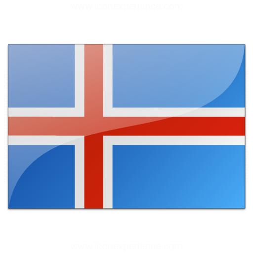 Flag Iceland Icon