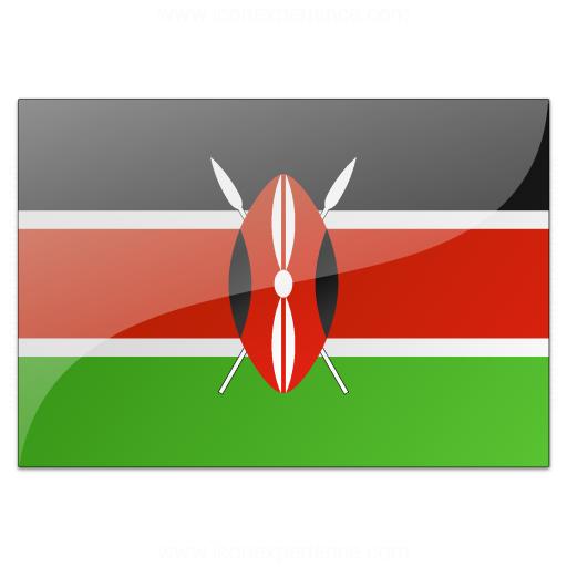 Flag Kenya Icon