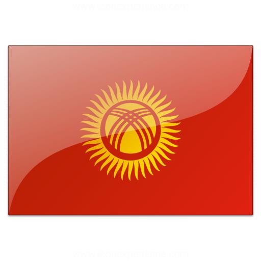 Flag Kyrgyzstan Icon