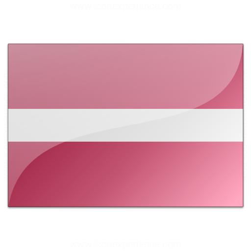 Flag Latvia Icon