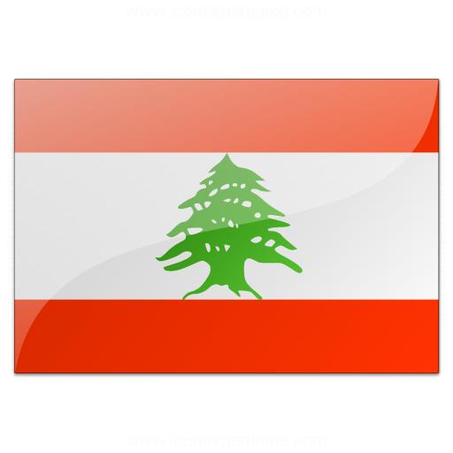 Flag Lebanon Icon