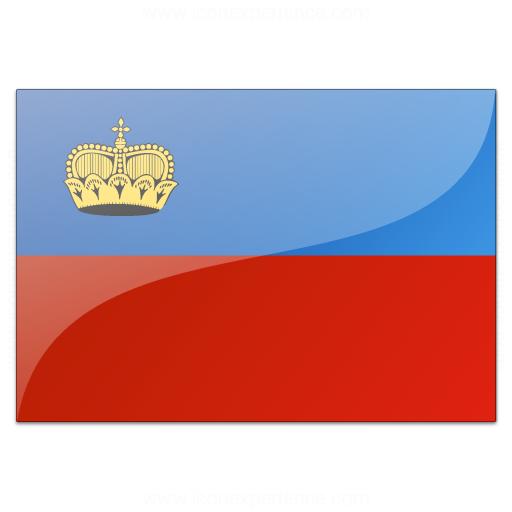 Flag Liechtenstein Icon