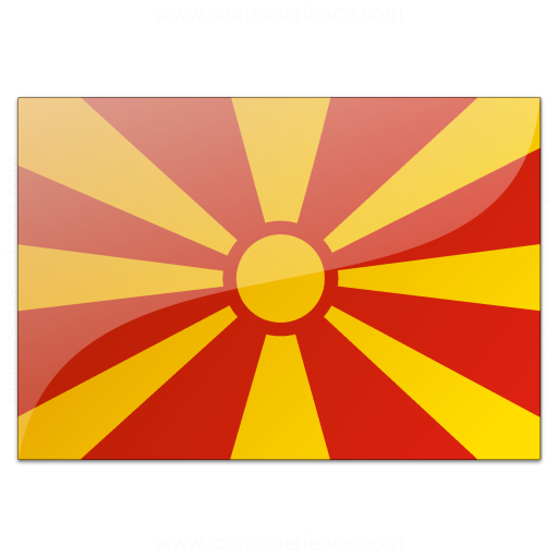 Flag Macedonia Icon