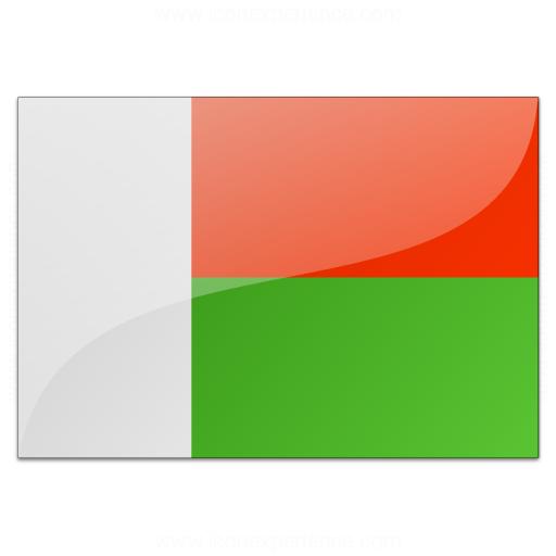 Flag Madagascar Icon
