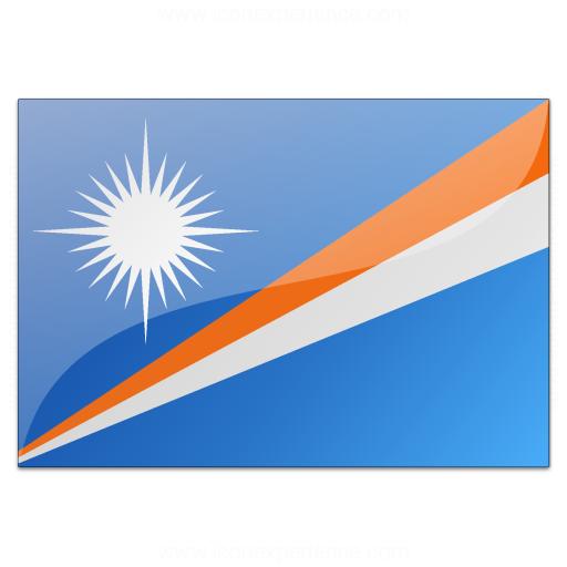 Flag Marshall Islands Icon