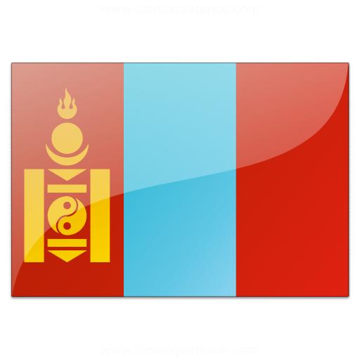 Flag Mongolia Icon