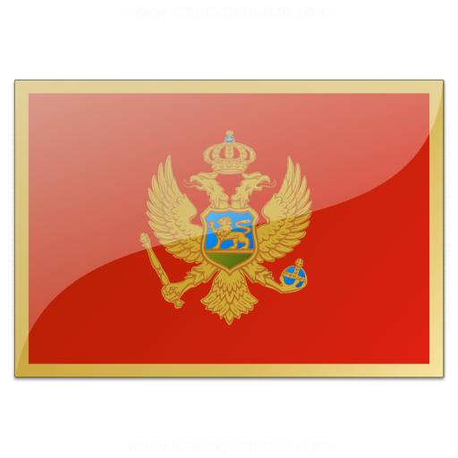 Flag Montenegro Icon