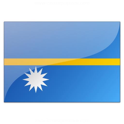 Flag Nauru Icon