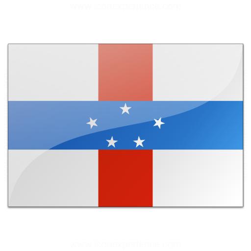 Flag Netherlands Antilles Icon
