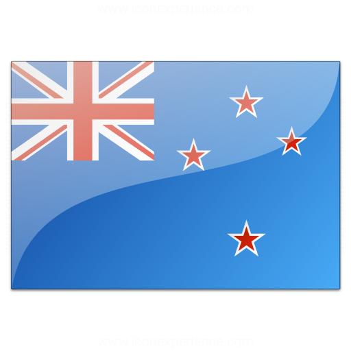 Flag New Zealand Icon