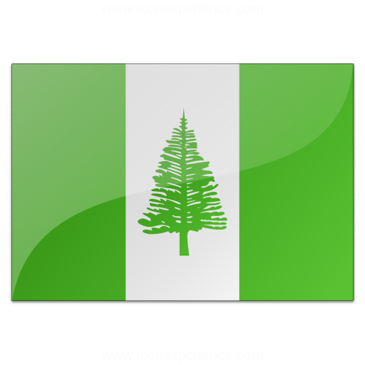 Flag Norfolk Island Icon