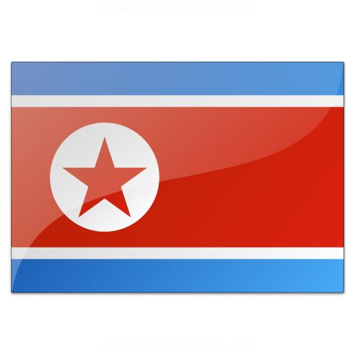 Flag North Korea Icon
