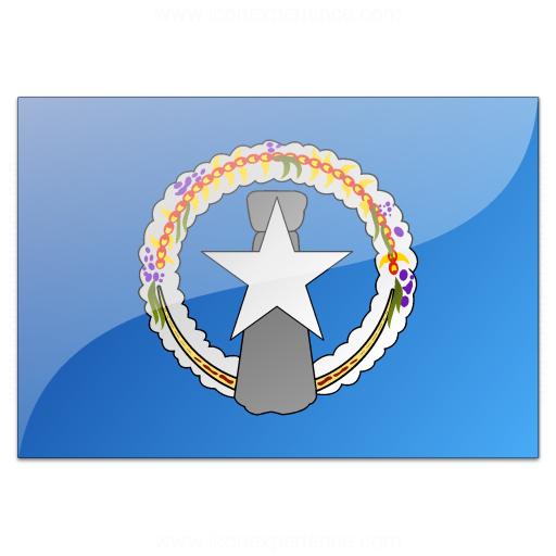 Flag Northern Mariana Islands Icon