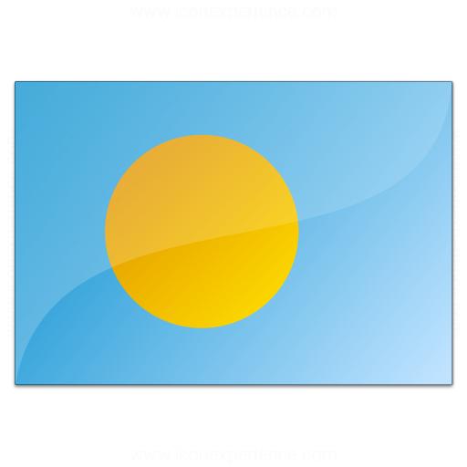 Flag Palau Icon