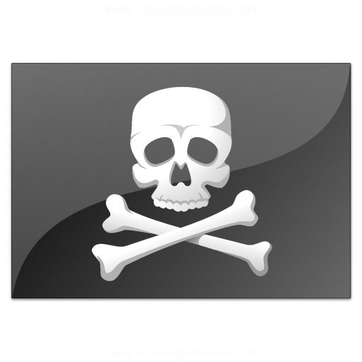 Flag Pirate Icon