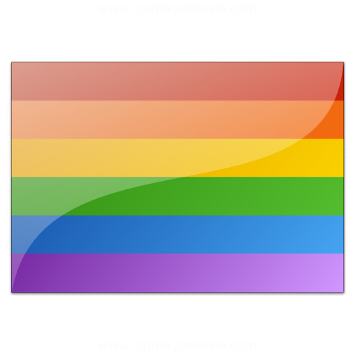 Flag Rainbow Icon