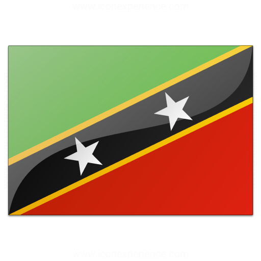 Flag Saint Kitts And Nevis Icon