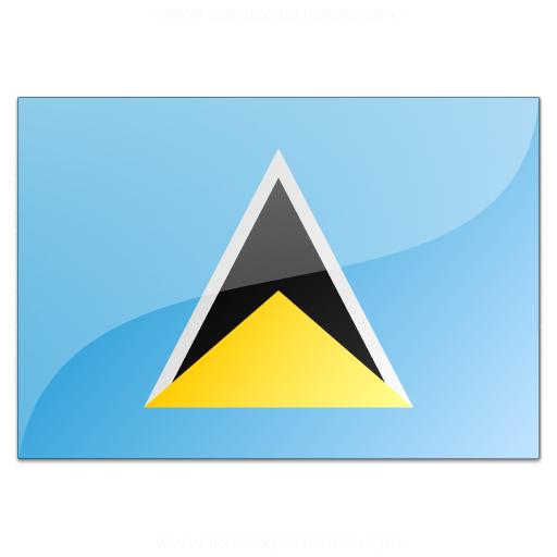 Flag Saint Lucia Icon