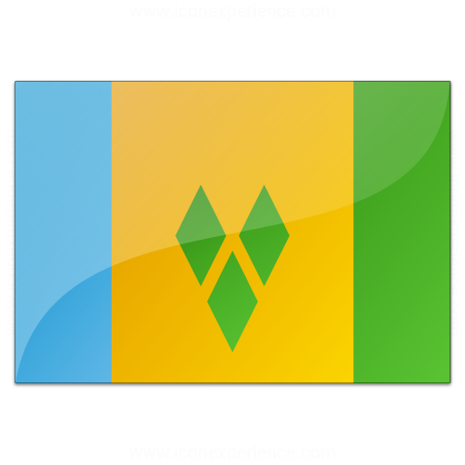 Flag Saint Vincent And The Grenadines Icon