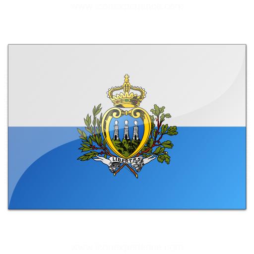 Flag San Marino Icon