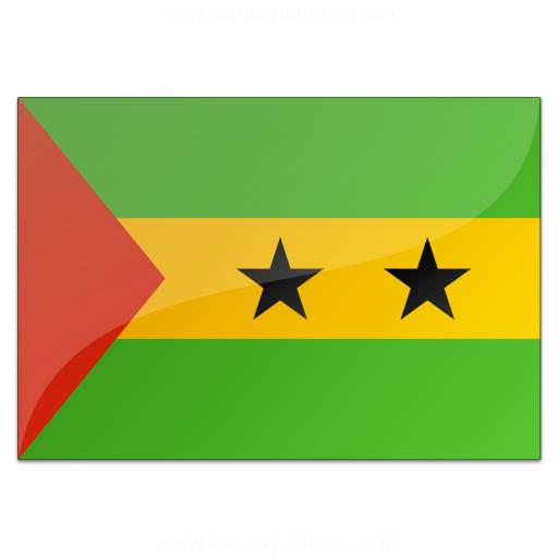 Flag Sao Tome And Principe Icon