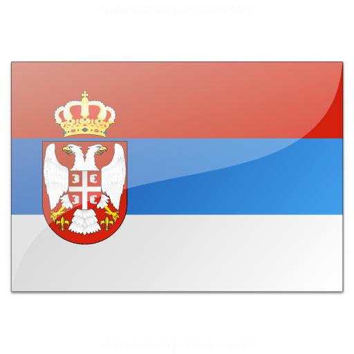 Flag Serbia Icon