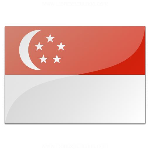Flag Singapore Icon