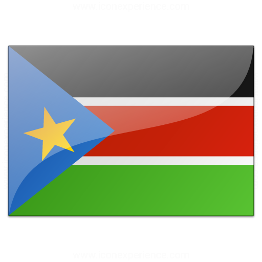 Flag South Sudan Icon