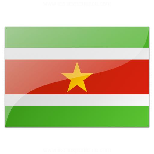 Flag Suriname Icon