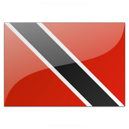 Flag Trinidad And Tobago Icon