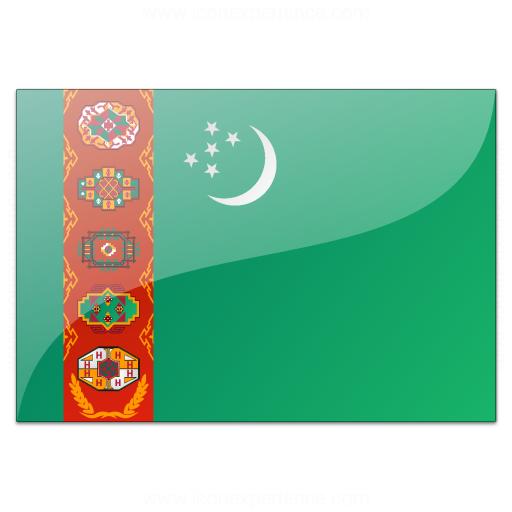 Flag Turkmenistan Icon