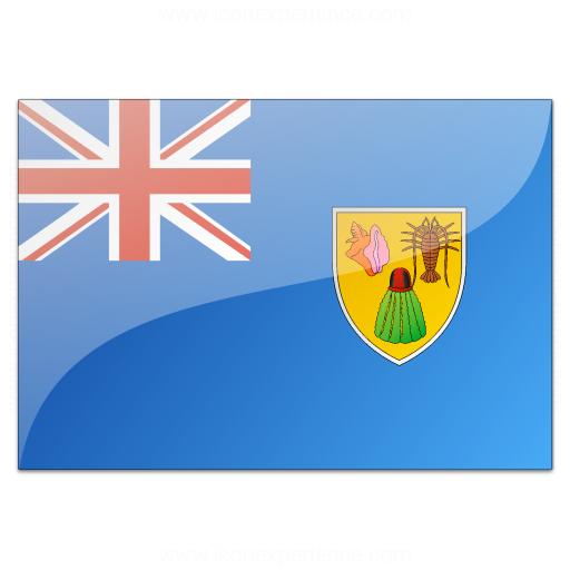 Flag Turks And Caicos Islands Icon