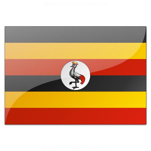 Flag Uganda Icon